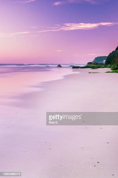 Burleigh Heads beach during the day.
