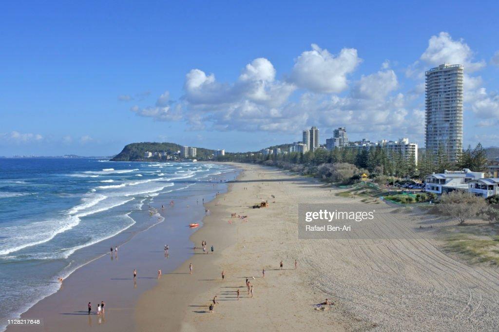 Burleigh Heads Beach, Gold Coast, Australia : Stock Photo