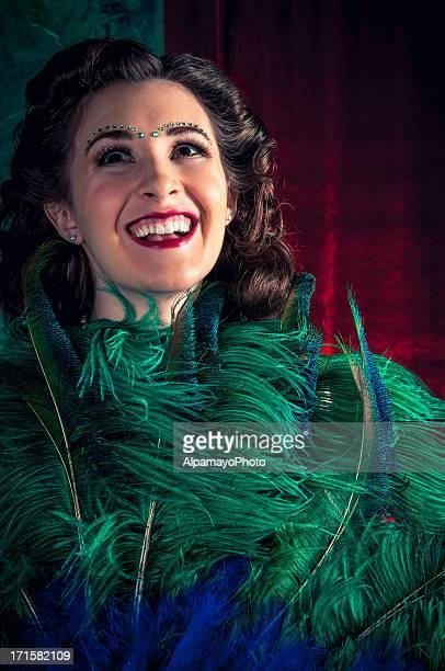 Burlesque Dancer - I