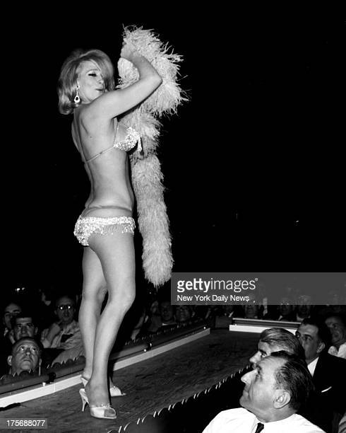 Burlesque French actress Denise Darcel started career in her forties once her acting career fizzled Darcel told the Daily News she turned to...
