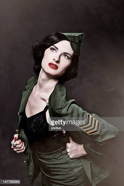 Burlesque military style