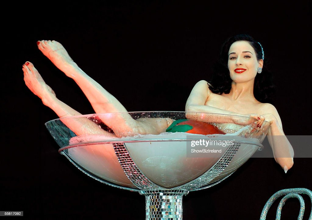 Dita Von Teese Performs At Dublin's New Harvey Nichols Store Launch