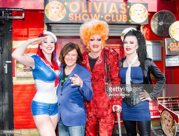 Burlesque performer Eve Champagne Schlager pop musician Ikke Hueftgold Schlager pop musician Juergen Drews the Drag queen Olivia Jones singer Mia...