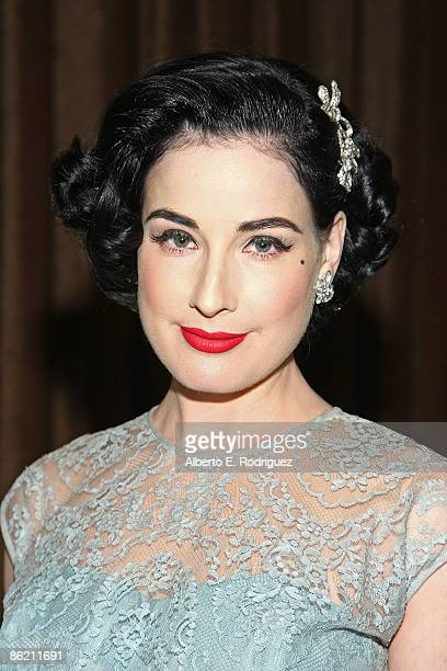 5137ca18dc34 Burlesque star Dita Von Teese attends the LA Gay and Lesbian Center s  An  Evening with