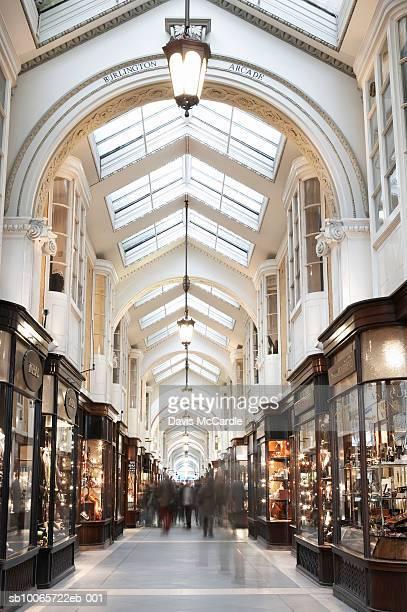 Burlington Arcade in London, England.