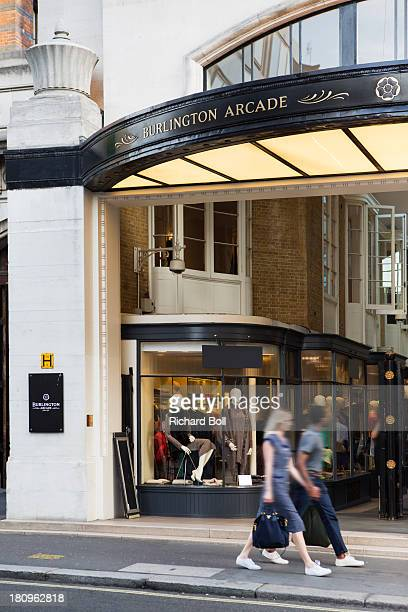 burlington arcade in london - the mall westminster stock photos and pictures