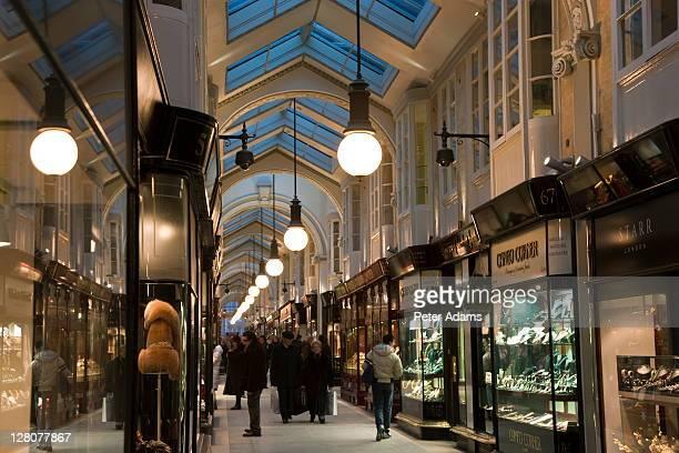 Burlington Arcade, London, England, UK