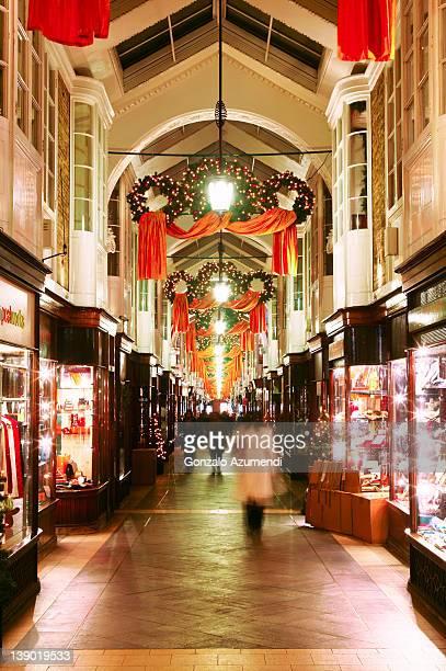 Burlington Arcade, Piccadilly street, London.