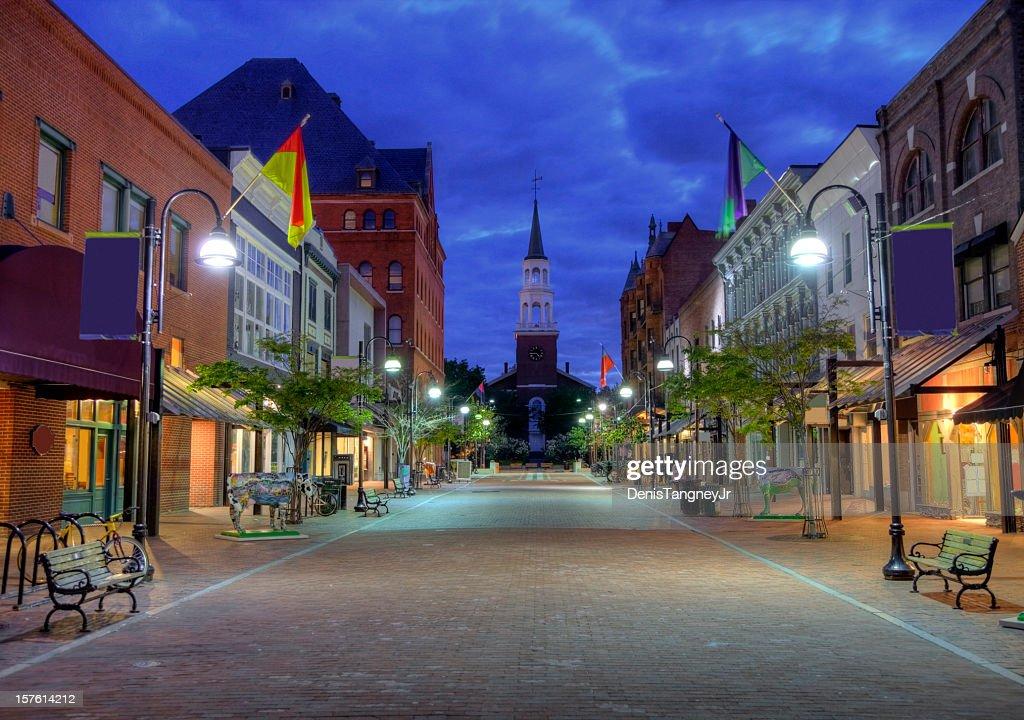 Burlington Vermont : Stock Photo