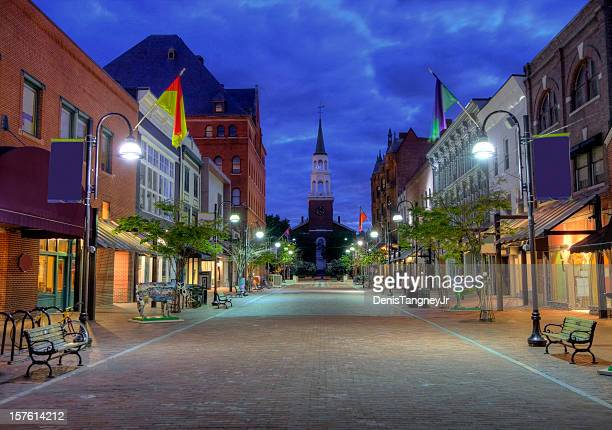 burlington vermont - new england usa stock pictures, royalty-free photos & images