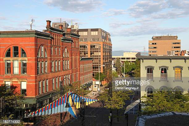 burlington vermont - burlington vermont stock photos and pictures