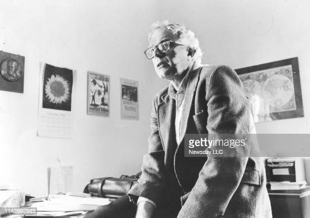 Brooklyn-born Bernie Sanders, Mayor of Burlington, Vermont, in his office at City Hall on March 1, 1985.