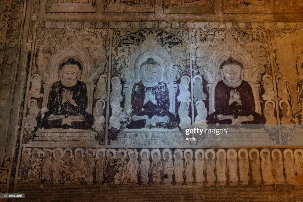 Ancient city of Bagan. : News Photo
