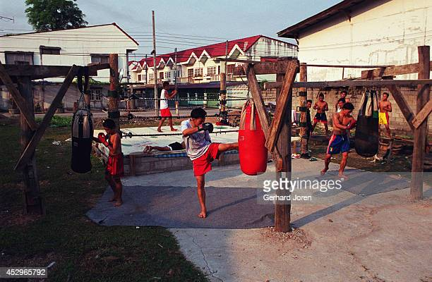 Burmese boxers train at Tuptimtong Gym which is one of three boxing gyms in Mae Sot on the ThaiBurmese border However Tuptimtong Gym is the only one...