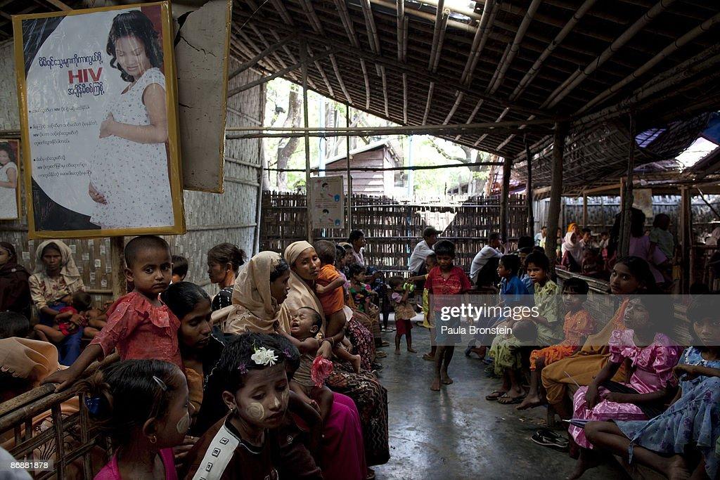 Malaria In Arakan State In Burma : News Photo