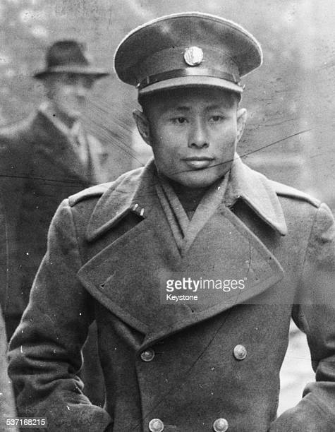 Burmese Vice President Aung San arriving at 10 Downing Street with his delegation for independence talks London January 13th 1947