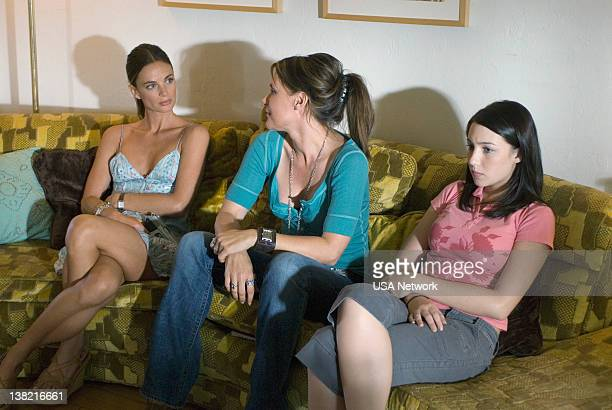 Burn Notice Fight of Flight Episode 3 Aired Pictured Gabrielle Anwar as Fiona Glenanne DeDee Pfeiffer as Cara Stagner Natalie Dreyfuss as Sophie...