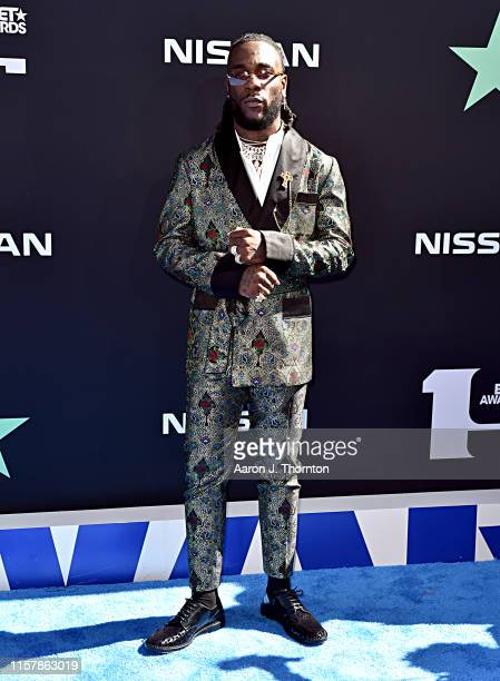 Burna Boy attends the 2019 BET Awards on June 23 2019 in Los Angeles California
