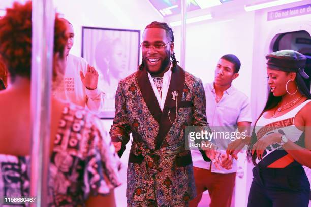 Burna Boy attends the InstaCarpet during the BET Awards 2019 at Microsoft Theater on June 23 2019 in Los Angeles California