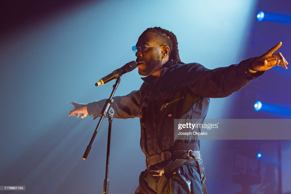 Burna Boy Performs At SSE Arena Wembley, London : News Photo