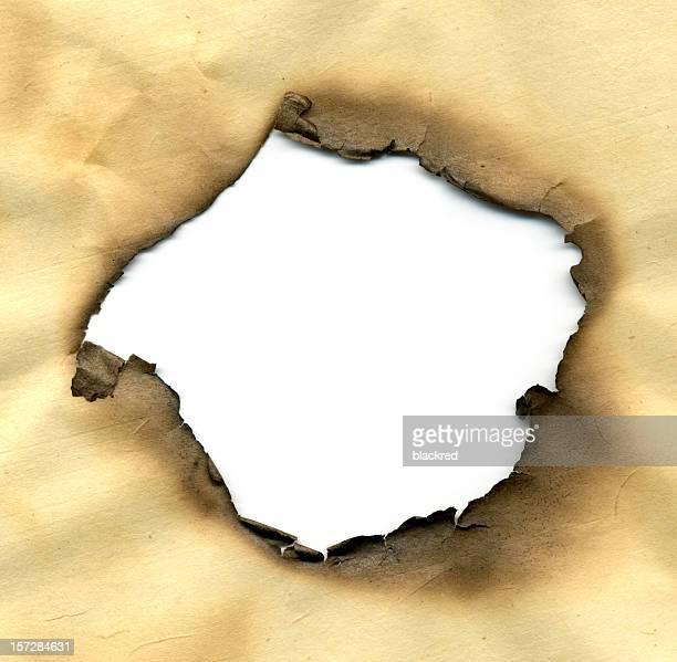 Burned Hole
