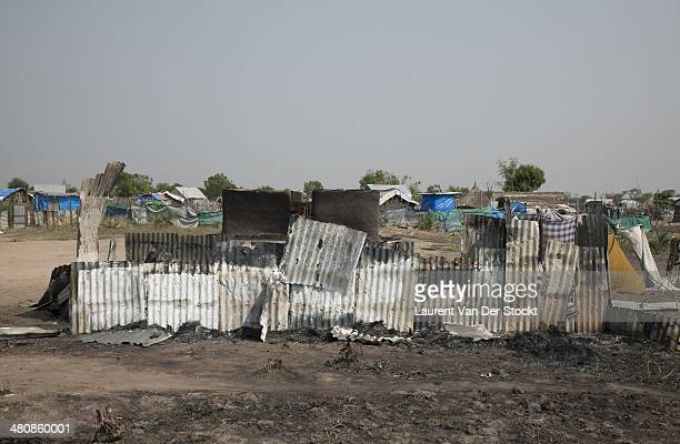 JANUARY 30 2014 A burned house in the district of Marol Photograph Laurent Van der Stockt/Edit by Getty Images