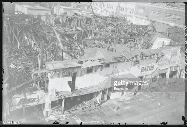 Burned Out Buildings of Coney Island