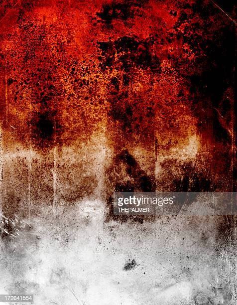 burned out grunge texture