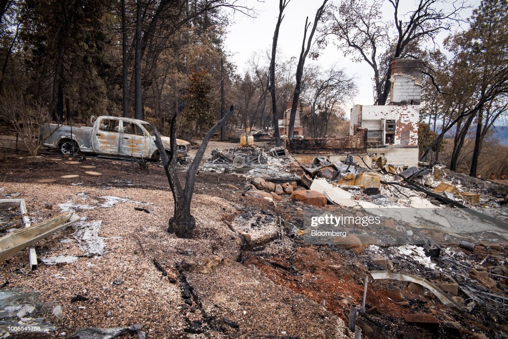 Deadliest Wildfires In California History As Death Toll Rises : News Photo