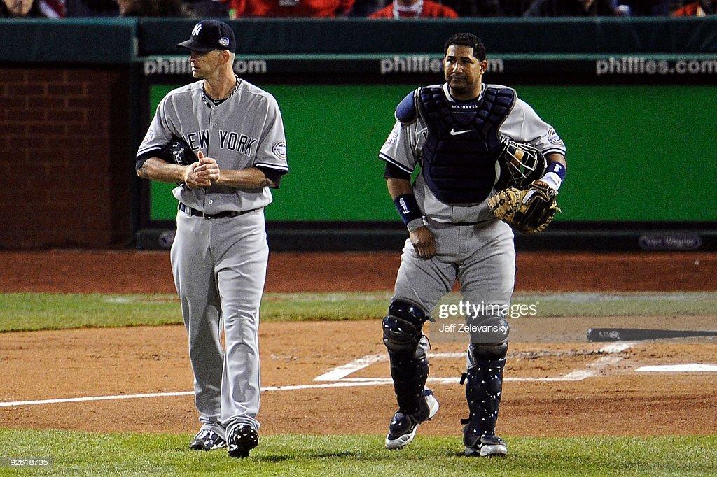New York Yankees v Philadelphia Phillies, Game 5