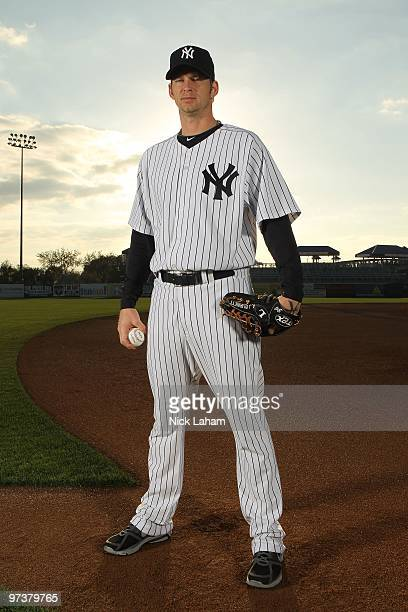 Burnett of the New York Yankees poses for a photo during Spring Training Media Photo Day at George M. Steinbrenner Field on February 25, 2010 in...