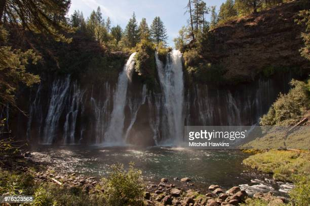 burney falls - brook mitchell stock pictures, royalty-free photos & images