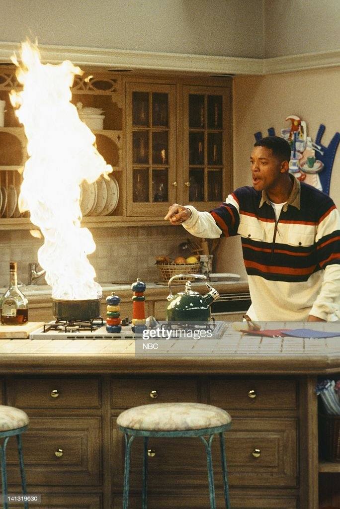 Air Burnin Down The House Episode 1 Pictured Will Smith As News Photo Getty Images