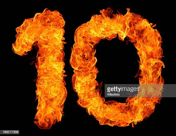 Brennen von 10
