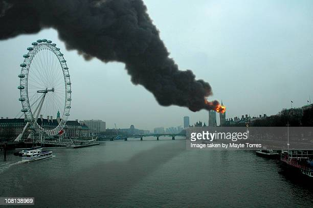 Burning Big Ben