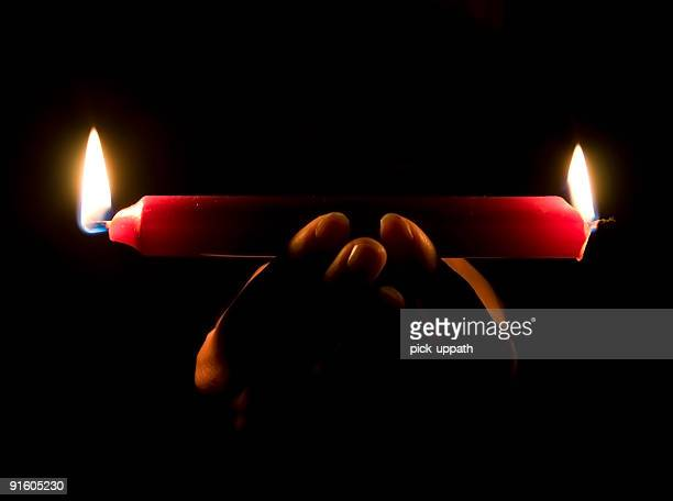 Burning Candle Both ends