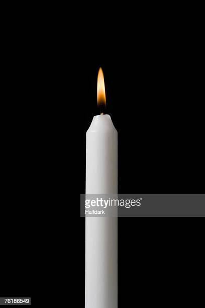 A burning candle