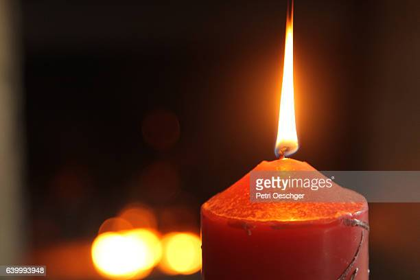 burning candles. - blackout stock pictures, royalty-free photos & images