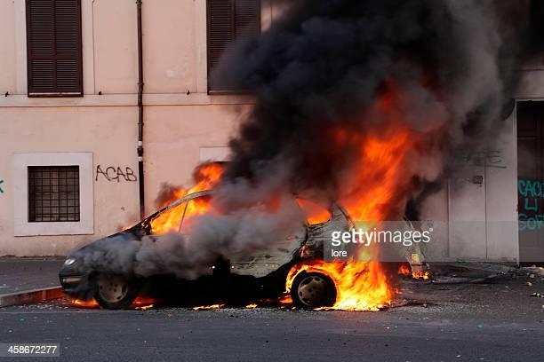 Burning Auto
