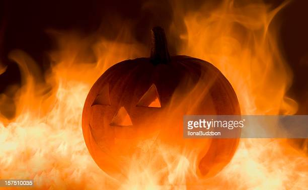 Brûler citrouille d'Halloween