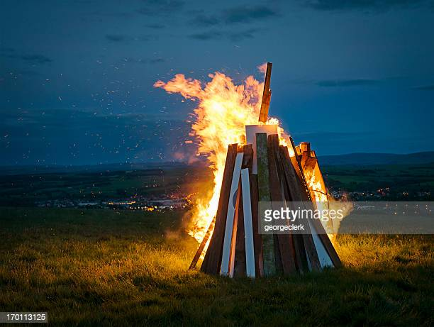 Burning Hill Beacon