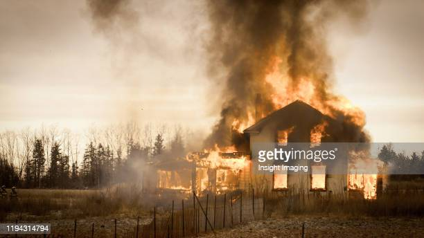 burning house - burning stock pictures, royalty-free photos & images