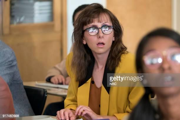 AP BIO 'Burning Miles' Episode 102 Pictured Allisyn Ashley Arm as Heather