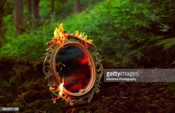 Burning Mirror