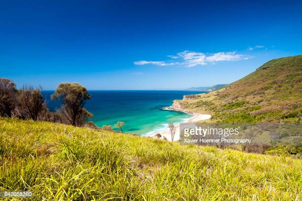 burning palms beach | royal national park - new south wales stock pictures, royalty-free photos & images