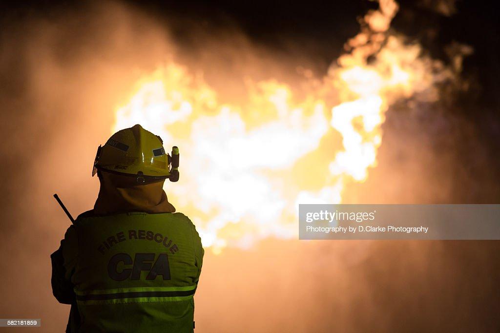 Burning : Stock Photo