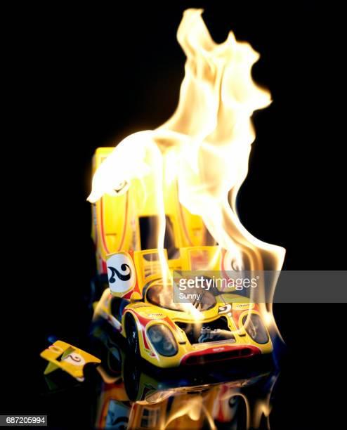 burning Racecar