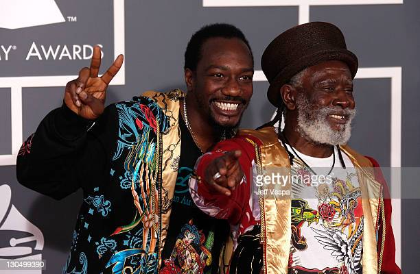 Burning Spear arrives to the 51st Annual GRAMMY Awards at the Staples Center on February 8 2009 in Los Angeles California