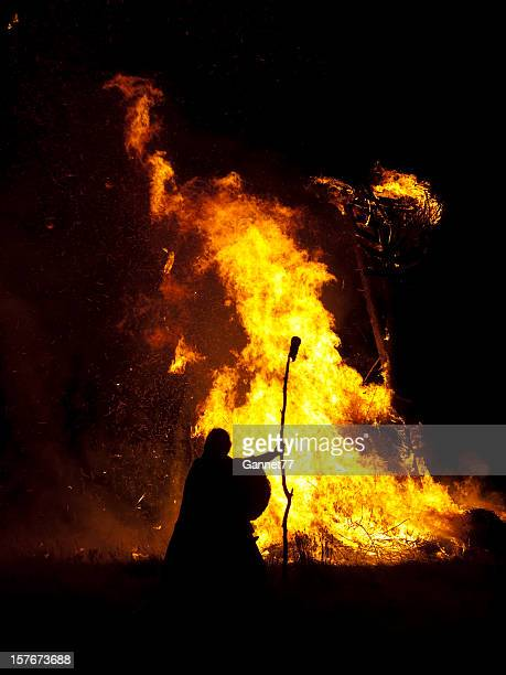 Burning the Wickerman