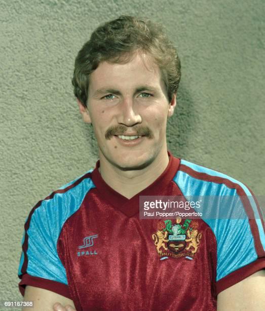 Burnley and Northern Ireland footballer Billy Hamilton circa August 1981
